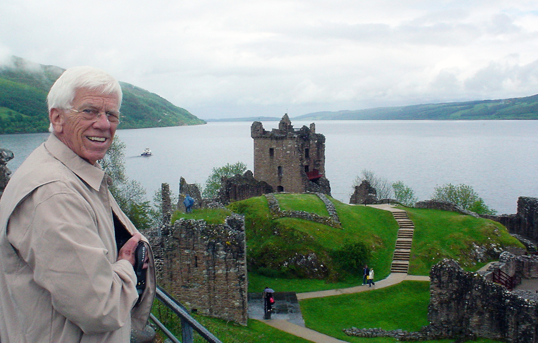 Jerry Preston at Loch Ness