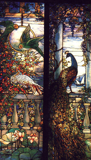 Louis Comfort Tiffany Delamar's country estate