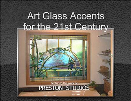 Preston Studios 2016 Calendar - Art Glass Accents