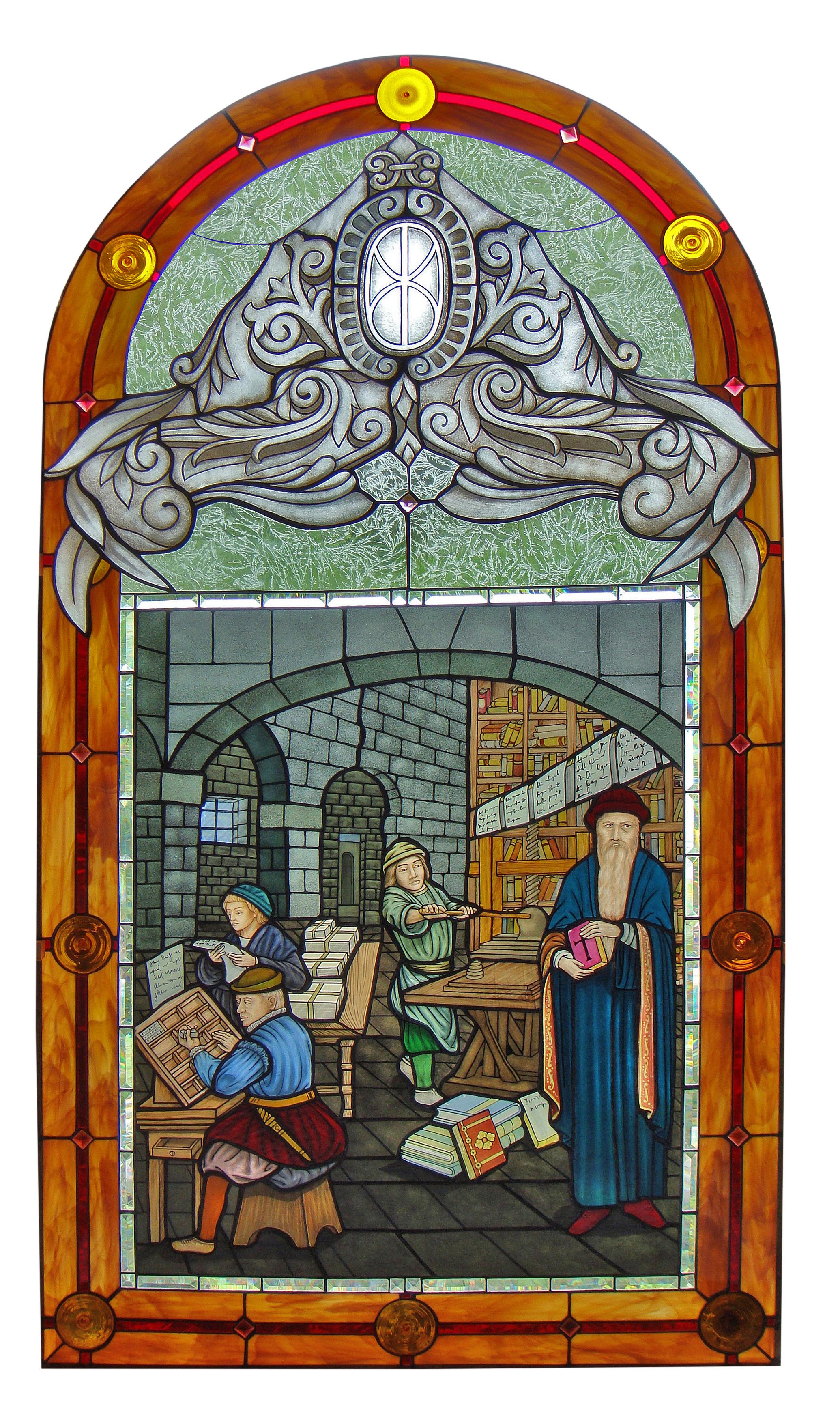 Custom original window by PRESTON STUDIOS