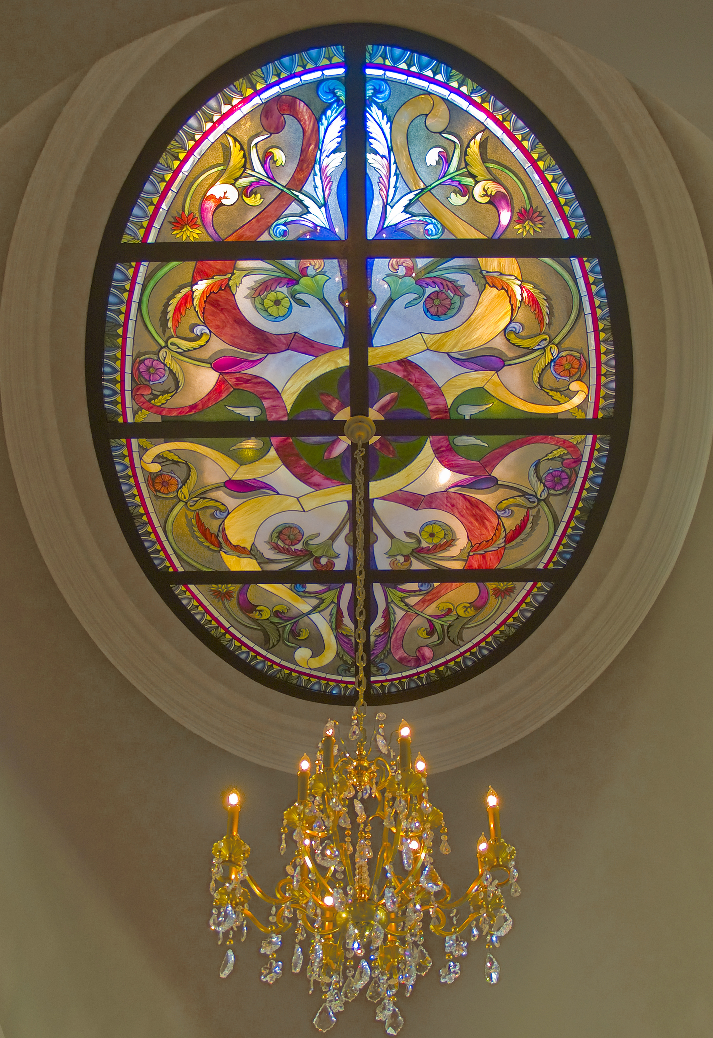 Original new French design ceiling by PRESTON STUDIOS