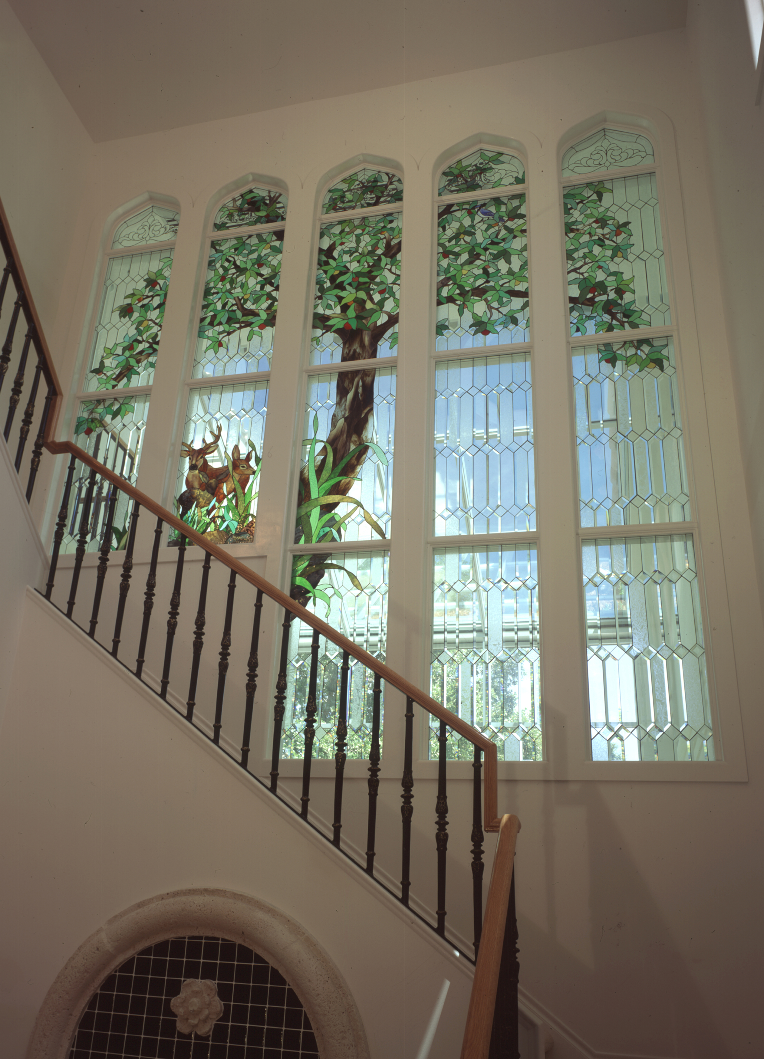 An original set of windows by PRESTON STUDIOS