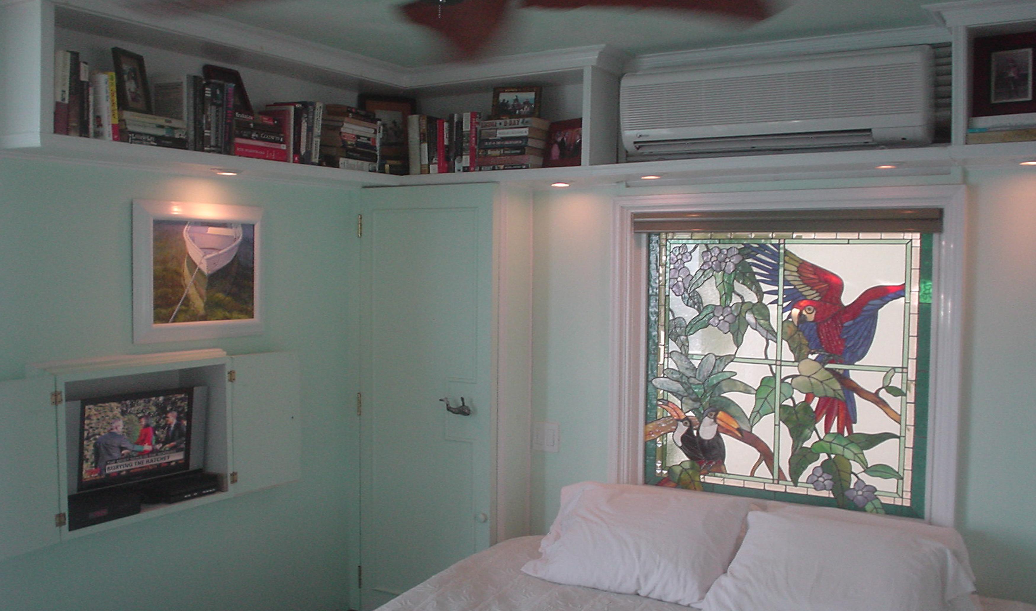 Privacy window by Preston Studios in the BVI
