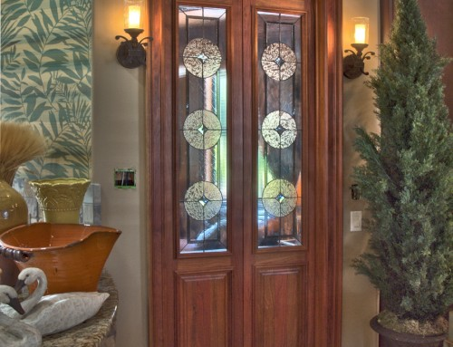 Library doors at Inspirations Showroom