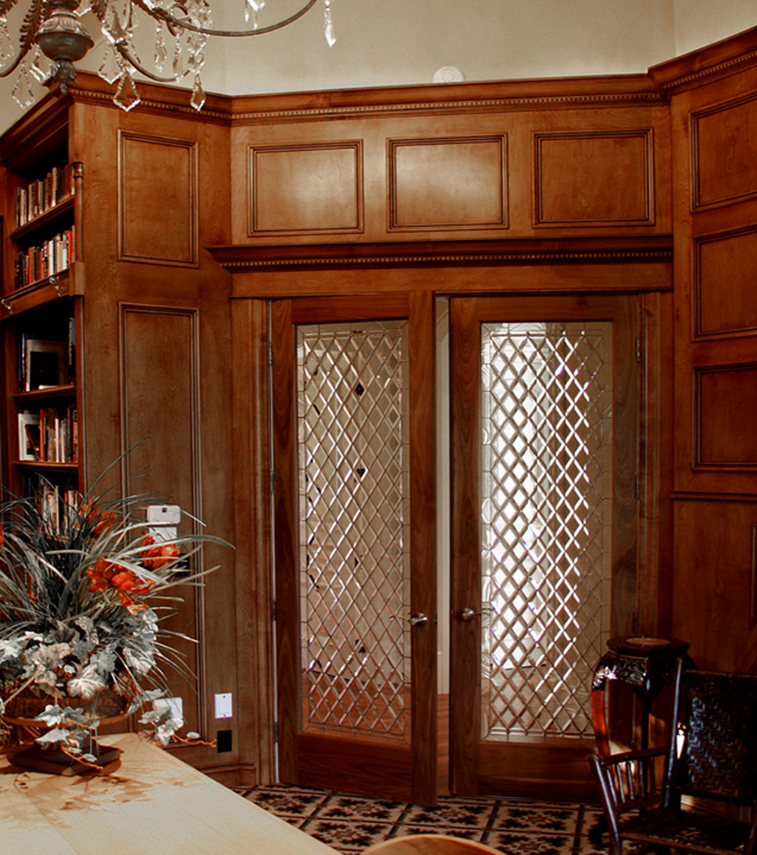 Library doors for Sottiles